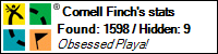 Cornell Finch stats